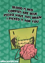 My Zombie Valentine... by zimra-art