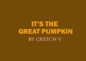 The Great Pumpkin-kinetic type by Flyinfrogg