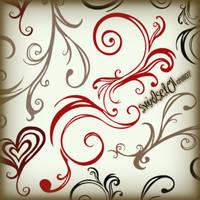 swirlSetO1 by chilli07