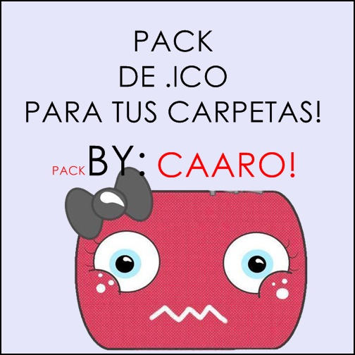 Iconos para decorar tus carpetas by ~CaroSelenatica on deviantART