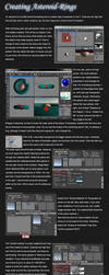 Creating Asteroid-Rings by BLPH