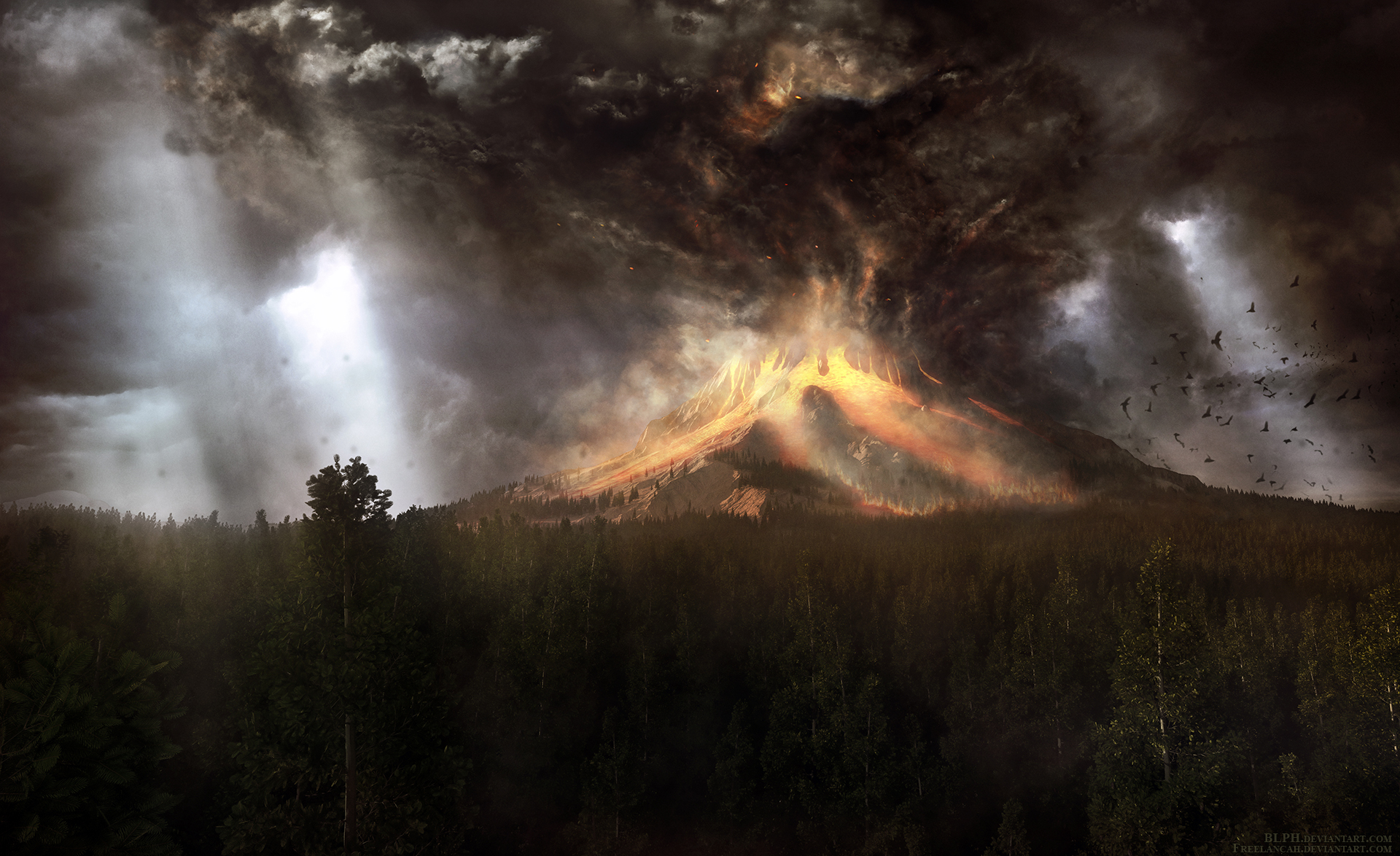 Under Burning Skies by BLPH