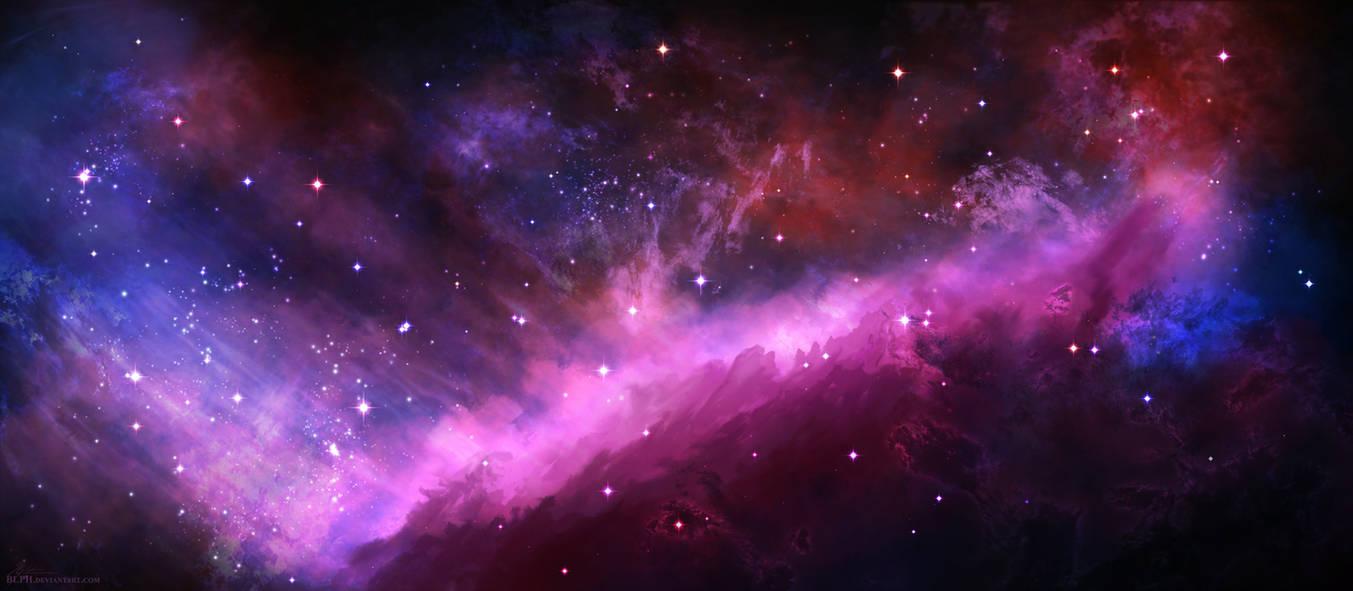 Ridge Nebula by BLPH
