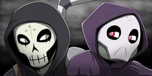 Masked Vigilantes (blinking icon set)
