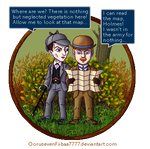 Frustrated Pixel Adventures of Holmes and Watson by OorusevenFiibaa7777