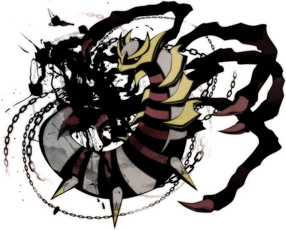 how to change giratina form
