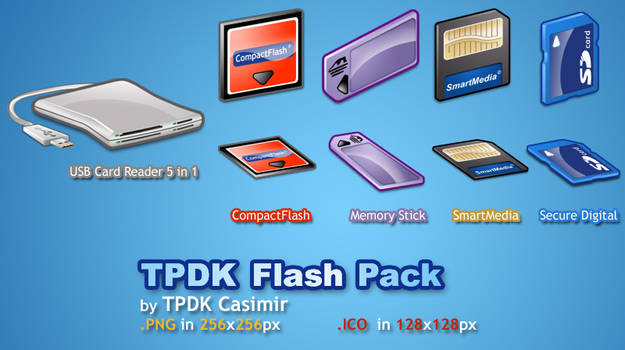 TPDK Flash Pack