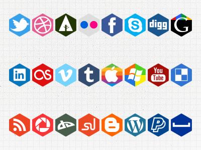 Social hexagons