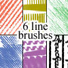 Line Brushes by tiptoe39