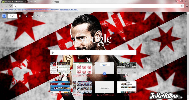 Google themes joker -  Cm Punk Google Chrome Theme By Jokerword
