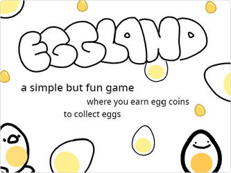 eggland (game) by eggnormous