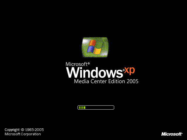 Windows Xp Media Center Edition 2005 Toshiba Dvd