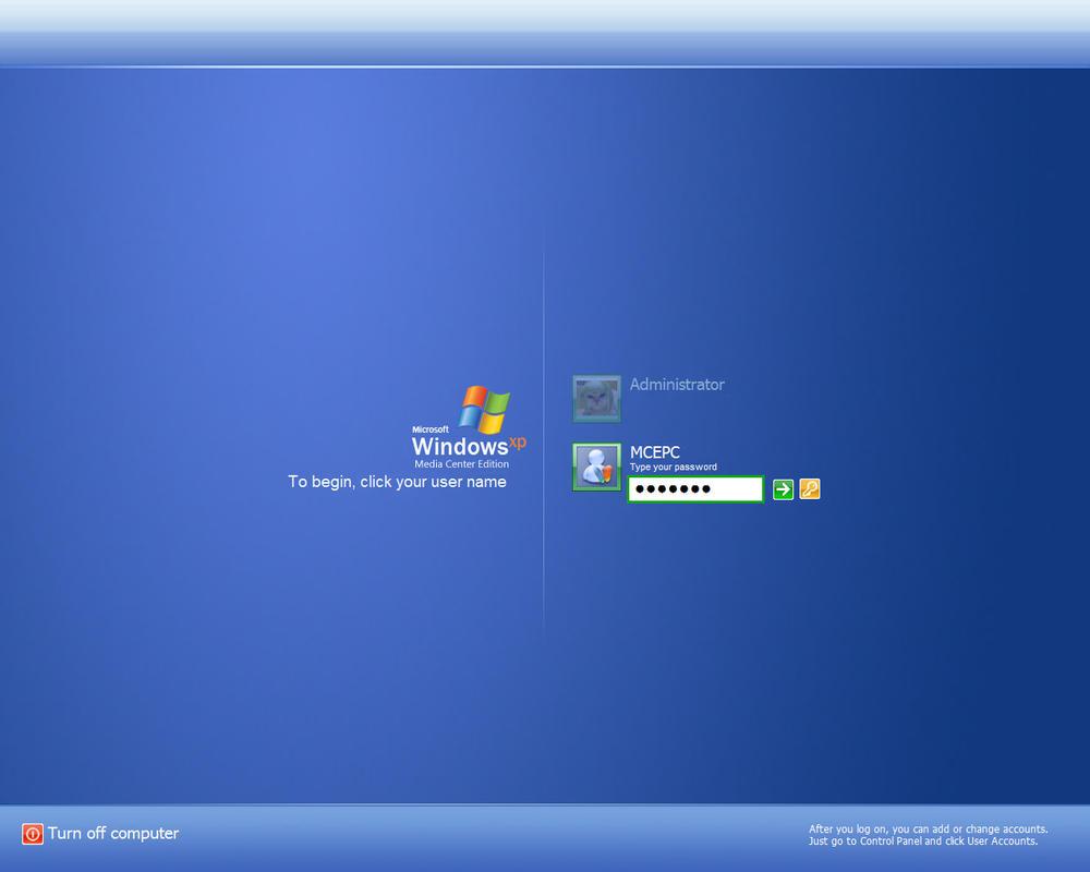 windows xp blue edition