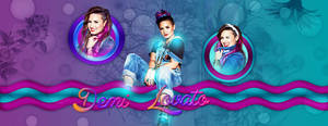 Psd Banner o Header de Demi Lovato!!