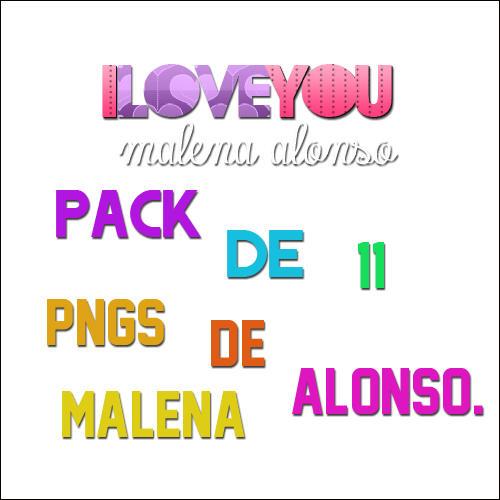 Pngs de Malena Alonso! by AguusVillar