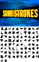 82 Sumi Strokes by pstutorialsws