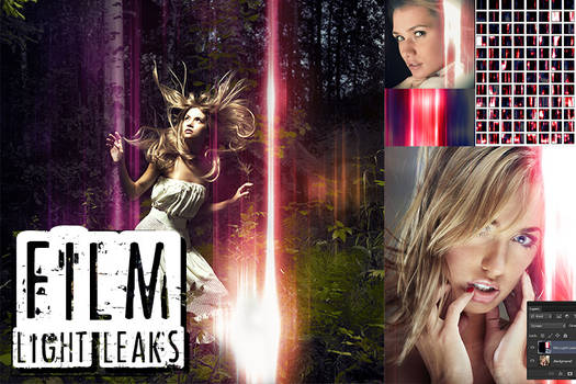 24 Amazing Film Light Leaks