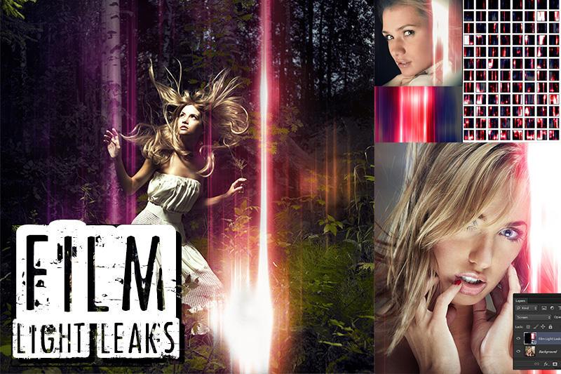 24 Amazing Film Light Leaks by pstutorialsws