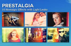 Prestalgia - 10 Retro Effects with Light Leaks