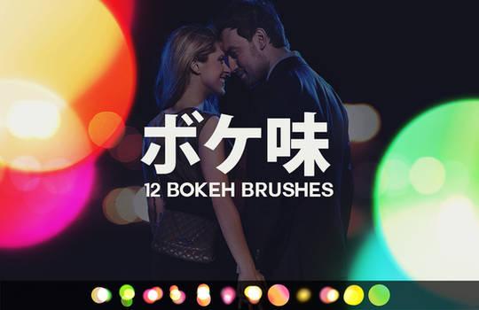 12 Large Bokeh Brushes