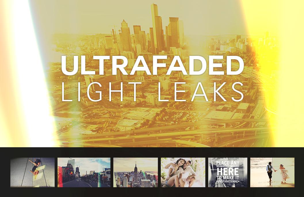 Ultra Faded Light Leaks by SparkleStock