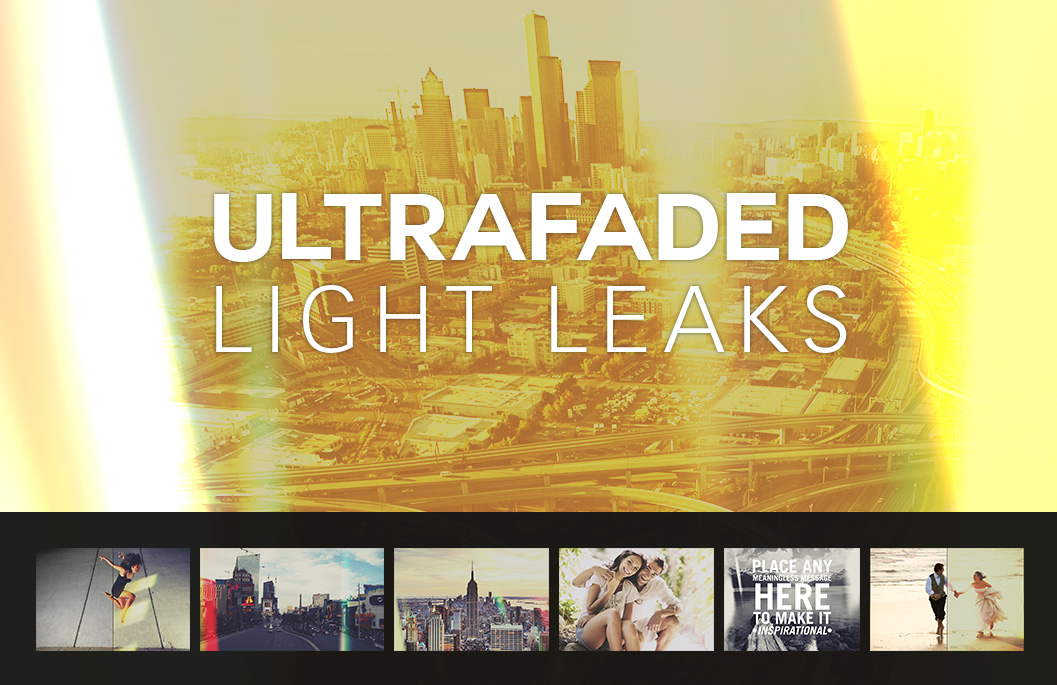Ultra Faded Light Leaks by SparkleStock by pstutorialsws