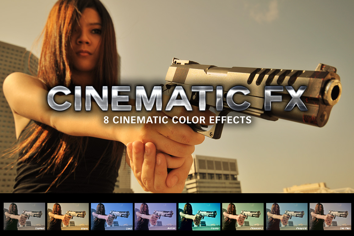 Cinematic FX by SparkleStock (Photoshop)