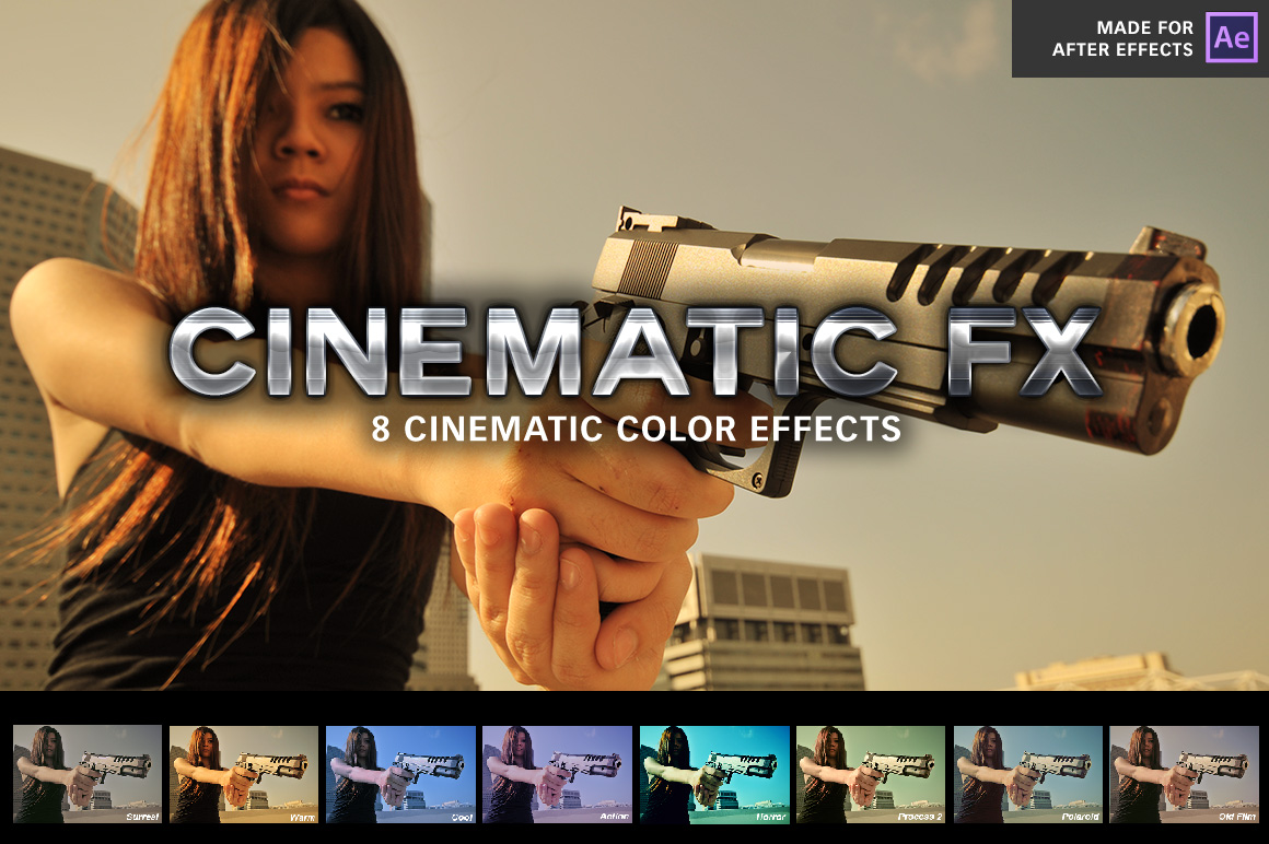 Cinematic FX by SparkleStock (After Effects)