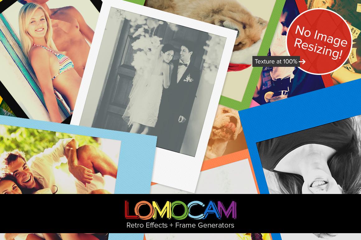 Lomocam - Lomo Effects + Polaroid Frame Generator by pstutorialsws