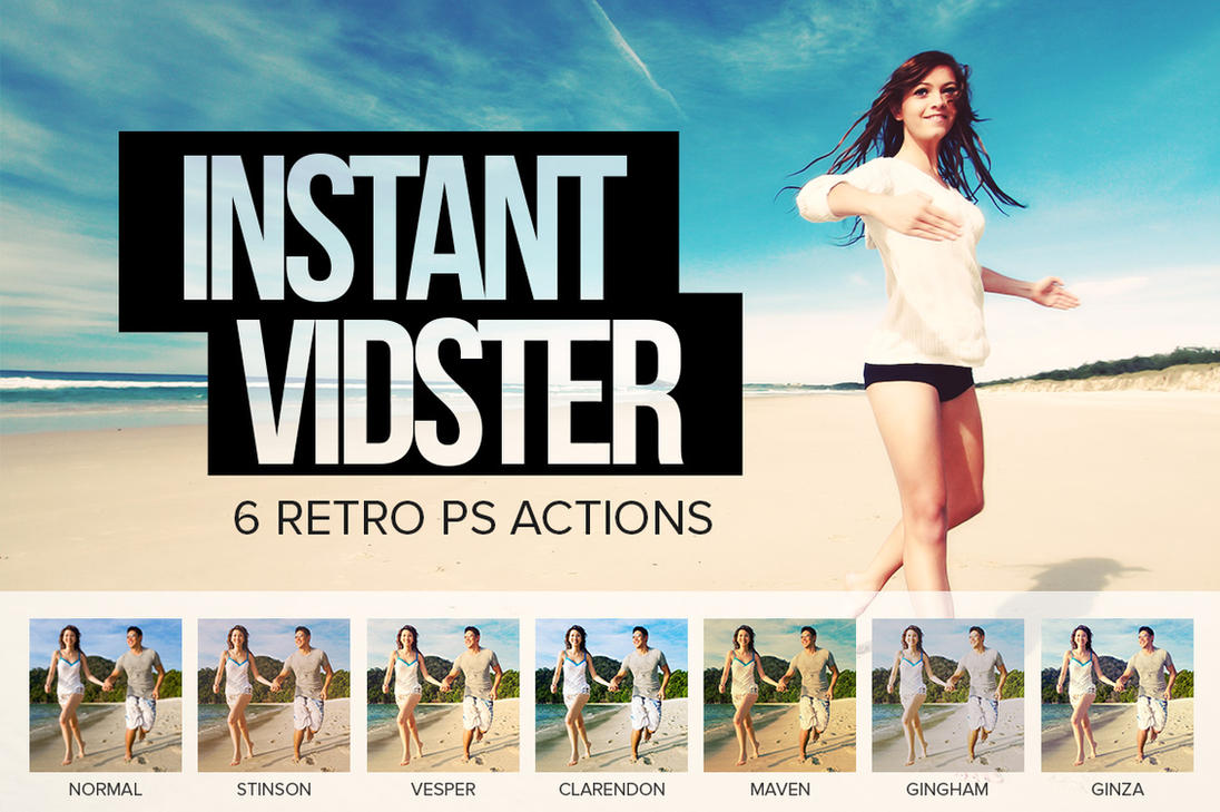 Instant Vidster by SparkleStock by pstutorialsws