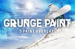 5 Grunge Paint Overlays by pstutorialsws
