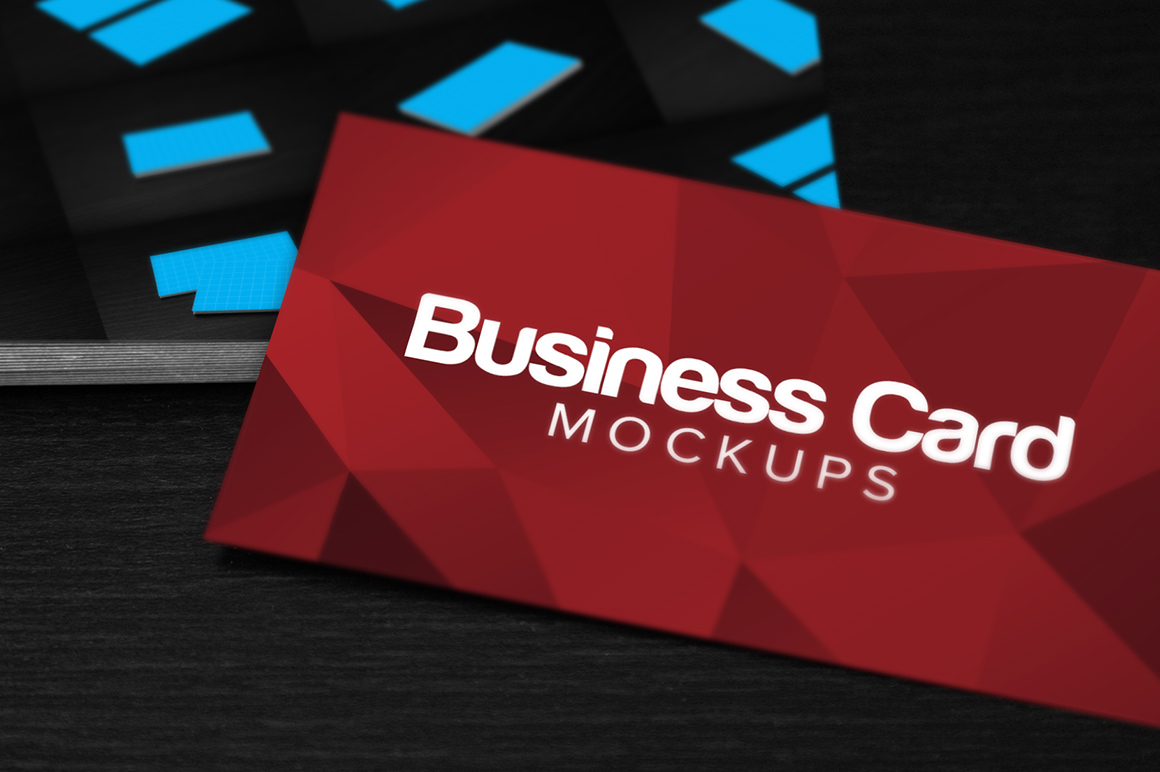 10 Business Card Mockup PSDs