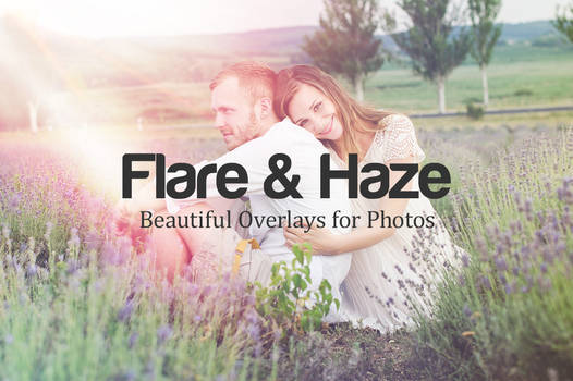 Beautiful Flare and Haze Overlays