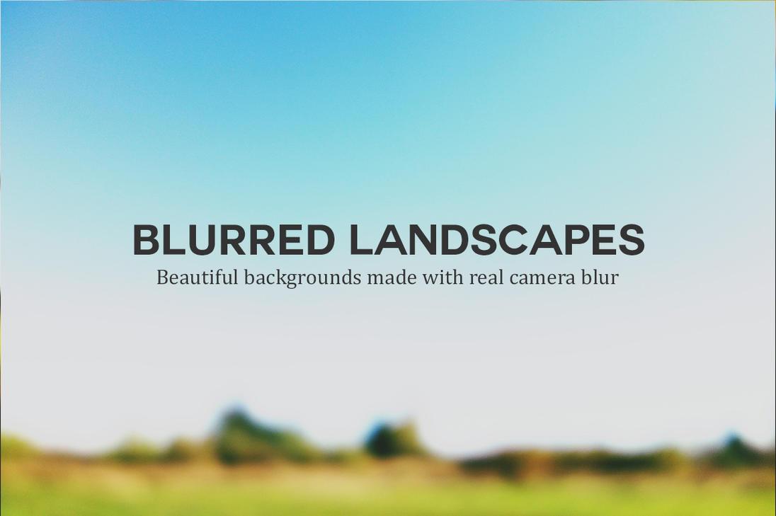 blurred beautiful natural landscape - photo #12