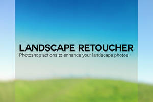 Photoshop Action: Landscape Retoucher