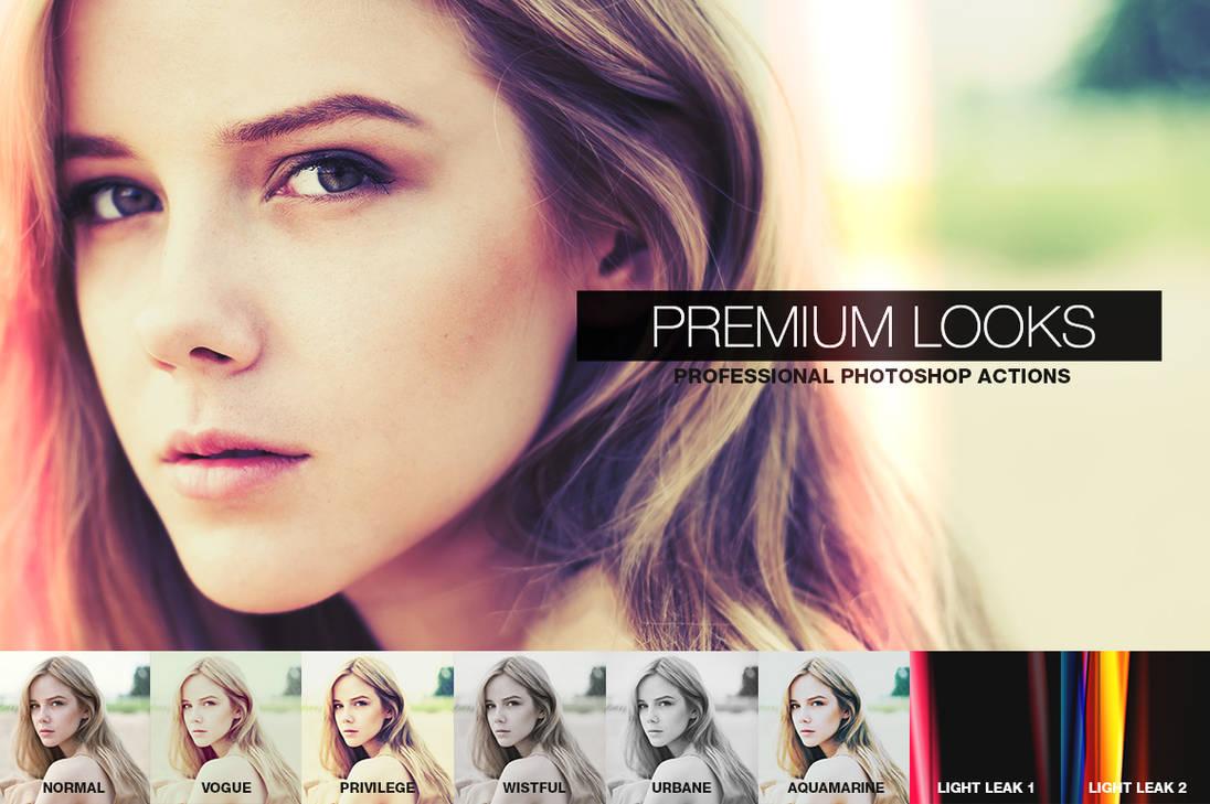 Premium Looks Photoshop Actions by pstutorialsws