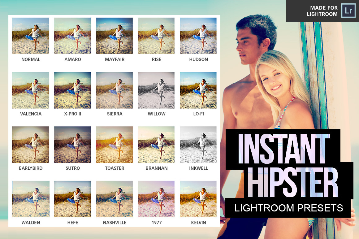 Instagram Presets for Lightroom by pstutorialsws