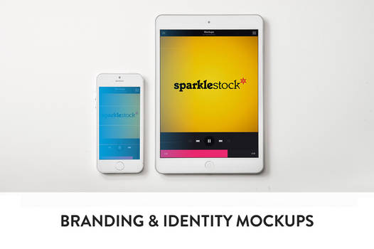 3 Clean Branding and Identity Mockups