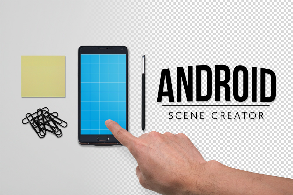 Android Scene Creator - Customizable Mockup by pstutorialsws