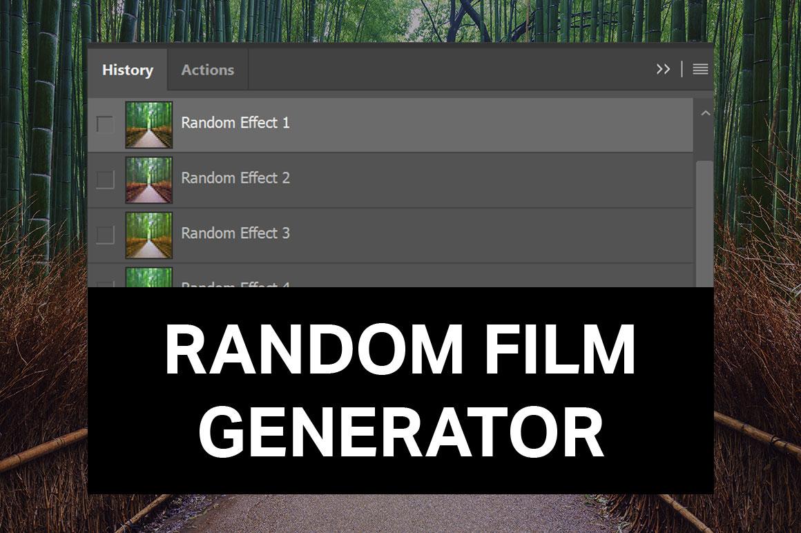 Random Film Generator by SparkleStock by pstutorialsws