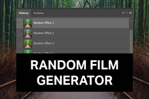 Random Film Generator by SparkleStock