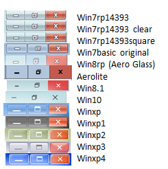 Theme Atlas Collection for Windows 10.14393 Final by WIN7TBAR