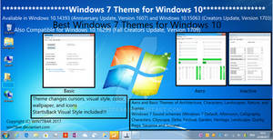 Windows 7 Theme for Windows 10