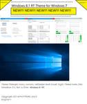 Windows 8.1 RT Theme for Windows 7