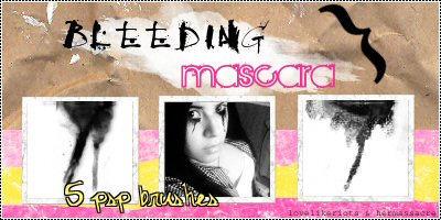 Bleeding Mascara by hermassacre