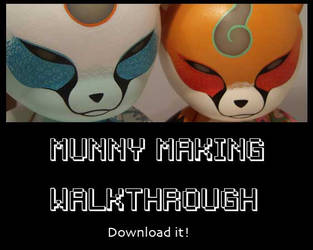 Munny Making Walkthrough by konako