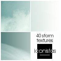 Storm Sky - 40 textures by goshdarnart