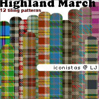 Highland March by goshdarnart
