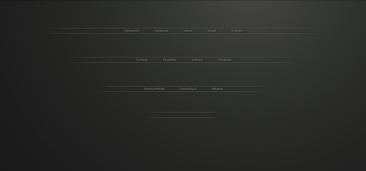 Simple Startpage by Mnmldsgn