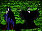 Maleficent Costume Swap by ARTIST-SRF